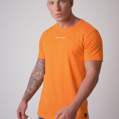 Project X Paris – Embroidered Logo tee – Orange