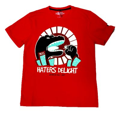 BKYS – Haters Delight tee – Red