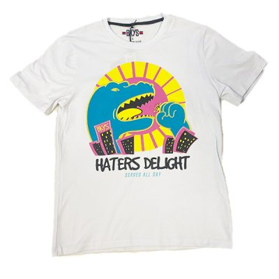 BKYS – Haters Delight Tee – White