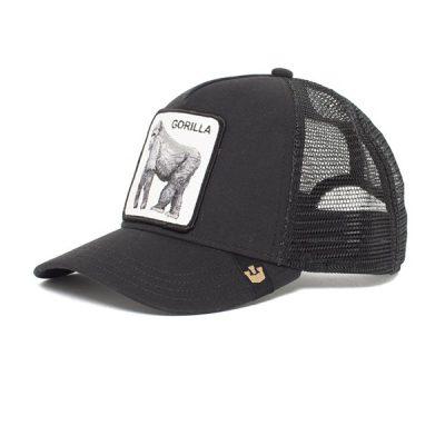 Goorin Bros. – King of the Jungle Trucker Hat – Black