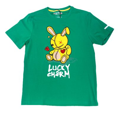 BKYS – Lucky Charm Tee – Green/Yellow