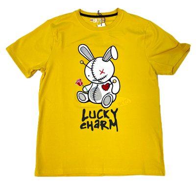 BKYS – Lucky Charm Tee – Mustard