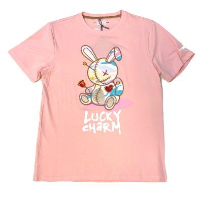 BKYS – Lucky Charm Tee – Pink/Camo
