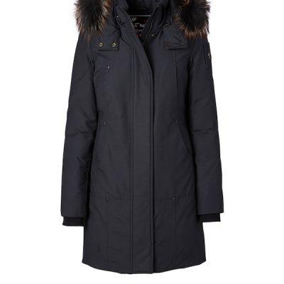 Moose Knuckles – Rabbit lake Parka – Navy w/ Viking fox fur