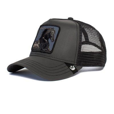 Goorin Bros. – Ride that Stallion Trucker Hat – Black