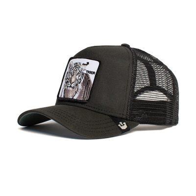 Goorin Bros. – Silver Tiger Trucker Hat – Black