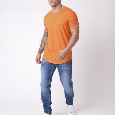 Project X Paris – Sleeve Logo Tee – Orange