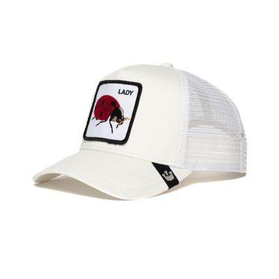 Goorin Bros. – Spot Trucker Hat – White