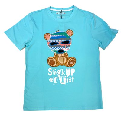 BKYS – Stick up Tee – Turquoise