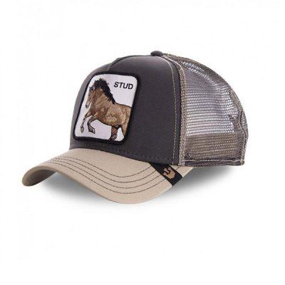 Goorin Bros. – You Stud Trucker Hat – Grey/Tan