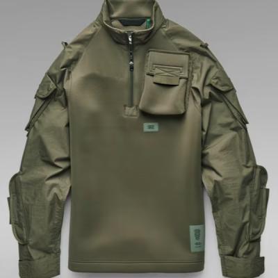 G Star RAW – Neoprene Sweater – Combat Olive