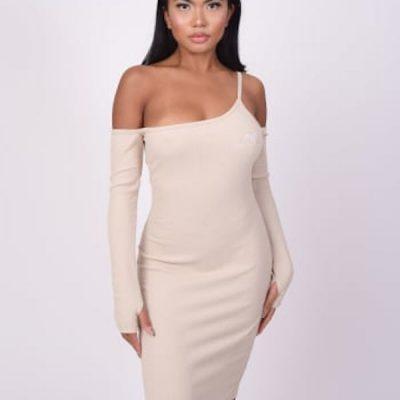 Project X Paris – 1 Strap Dress – Off white