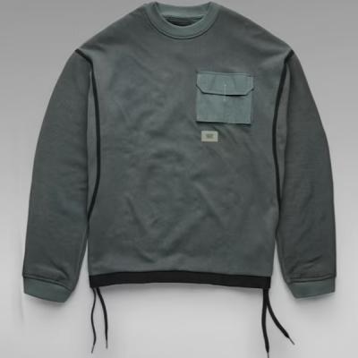 G Star RAW – Tape Mesh Sweater – Graphite