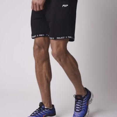 Project X Paris – Taping Shorts – Black