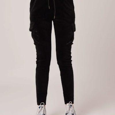 Project X Paris – Velour Joggers – Black