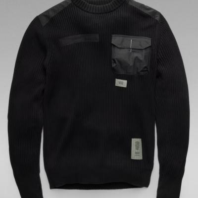 G Star RAW – Army Knit – Black