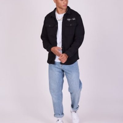 Project X Paris – Button up Sweater – Black
