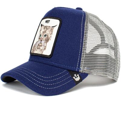 Goorin Bros. – Clean Cat Trucker Hat – Blue