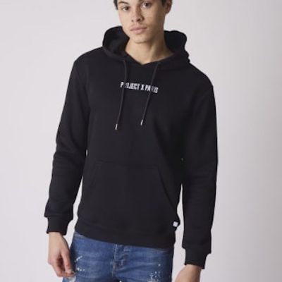 Project X Paris – PXP Embroidered Hoodie – Black