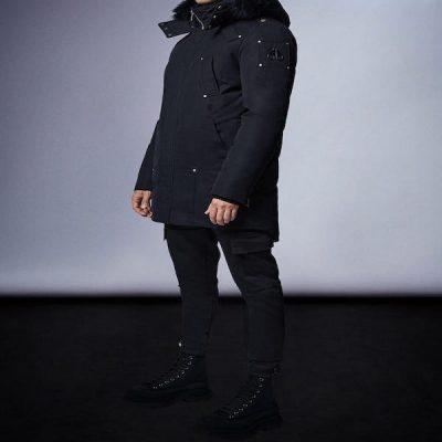 Moose Knuckles – Firebag Parka – Black w/ Black Fur