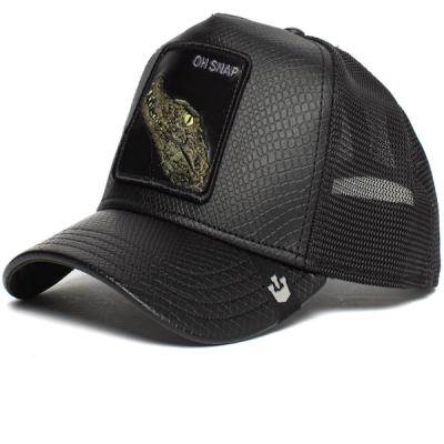 Goorin Bros. – Leaping Lizard Trucker Hat – Black