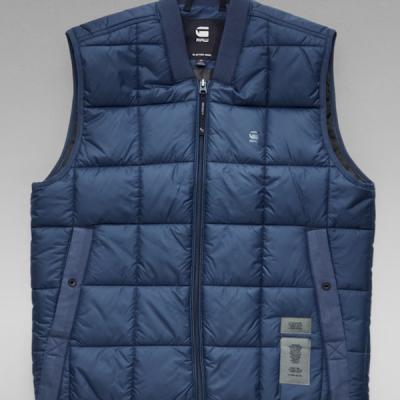 G Star RAW – Meefic Vest – Blue