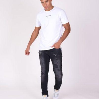 Project X Paris – Destroyed Slim Jeans – Black