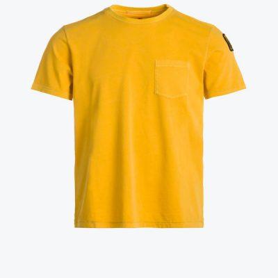 Parajumpers – Basic Tee – Pumpkin (yellow)