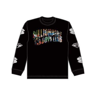 Billionaire Boys Club – BB Arch LS tee – Black
