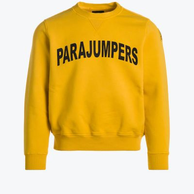 Parajumpers – Caleb Crew neck – Pumpkin (yellow)