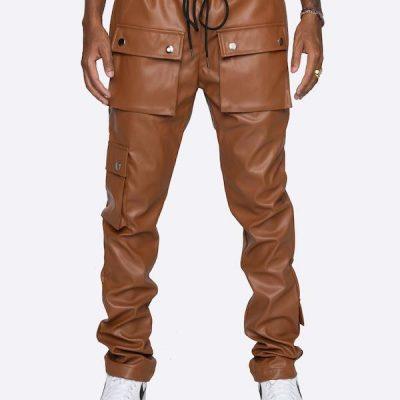 EPTM – Gopachi Snap Cargo Pants – Brown
