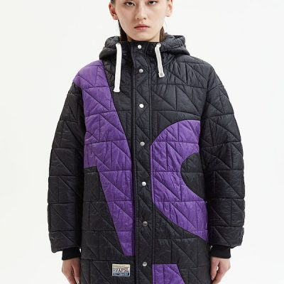 Alpha Style – Joy Quilted Hood – Black