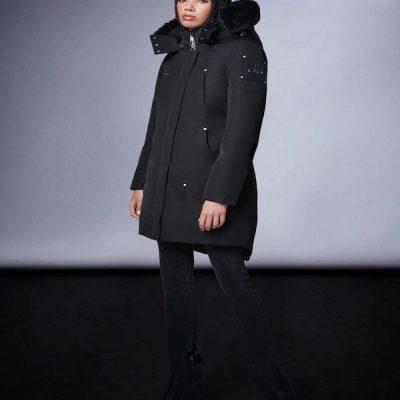 Moose Knuckles – Sunwapta – Black w/ Black fur