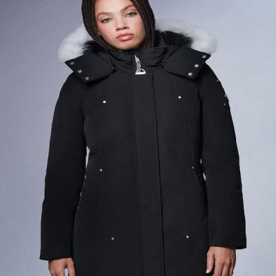 Moose Knuckles – Sunwapta – Black w/ Natural Fox Fur